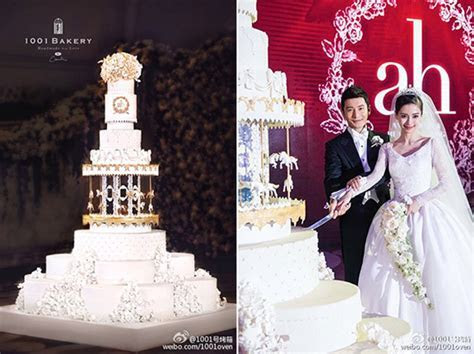 8 Mind Blowing Celebrity Wedding Cakes for Some Major #
