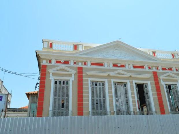 Palacete foi erguido no período da borracha no Amazonas (Foto: Divulgação/Semcom)