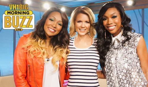 VH1 Big Morning Buzz (3/14/12), Brandy, Monica