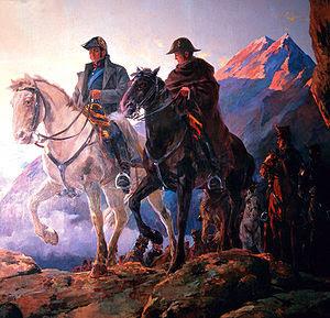 Ejercito Libertador cruce de Cordillera de los andes.jpg
