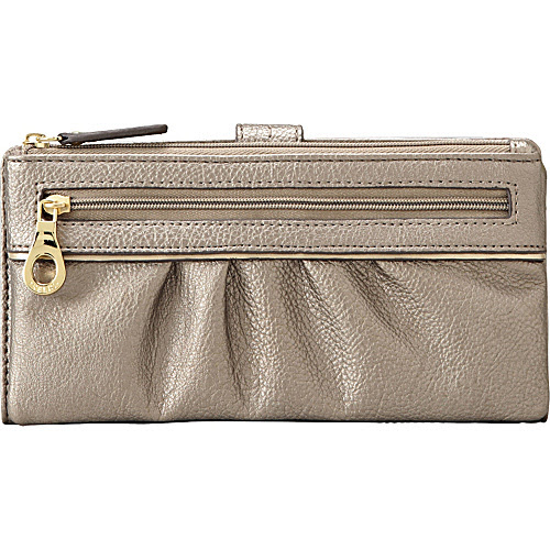 Relic Jenny Checkbook Pewter - Relic Ladies Small Wallets