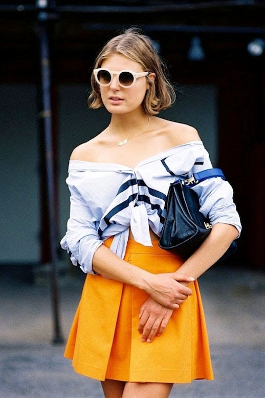 24 Le Fashion 31 Stylish Ways To Wear An Off The Shoulder Look Street Style Claire Beermann Via Vanessa Jackman
