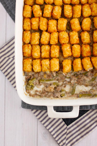 Gluten Free Tater Tot Casserole Picture