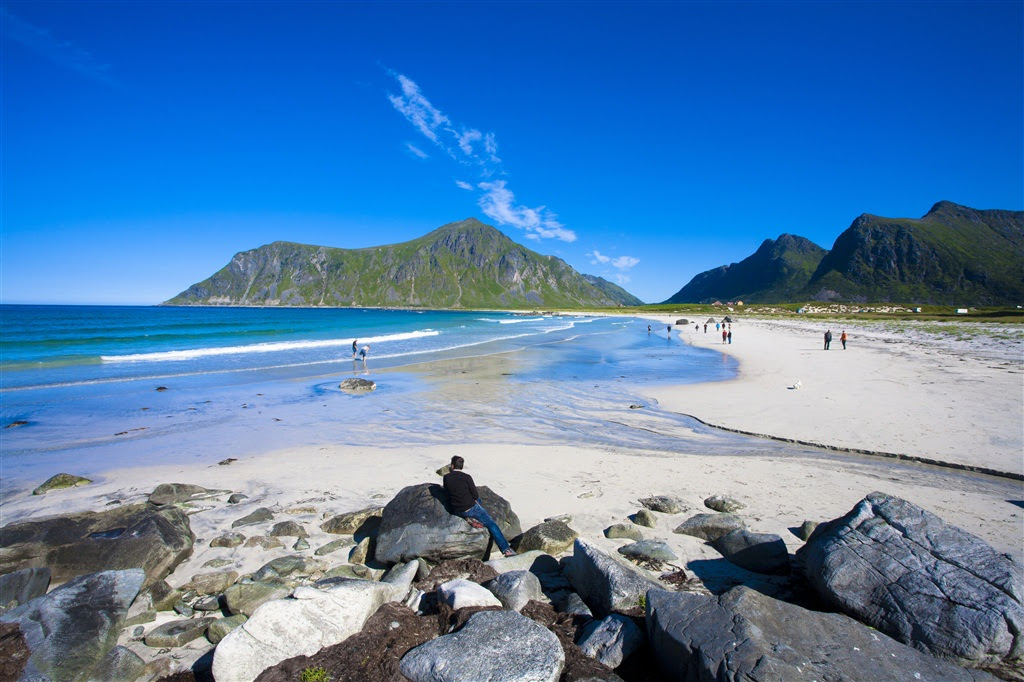 Skagsanden Beach Flakstad Lofoten Photo Sonia Arrepia Photgraphy Visitnorway