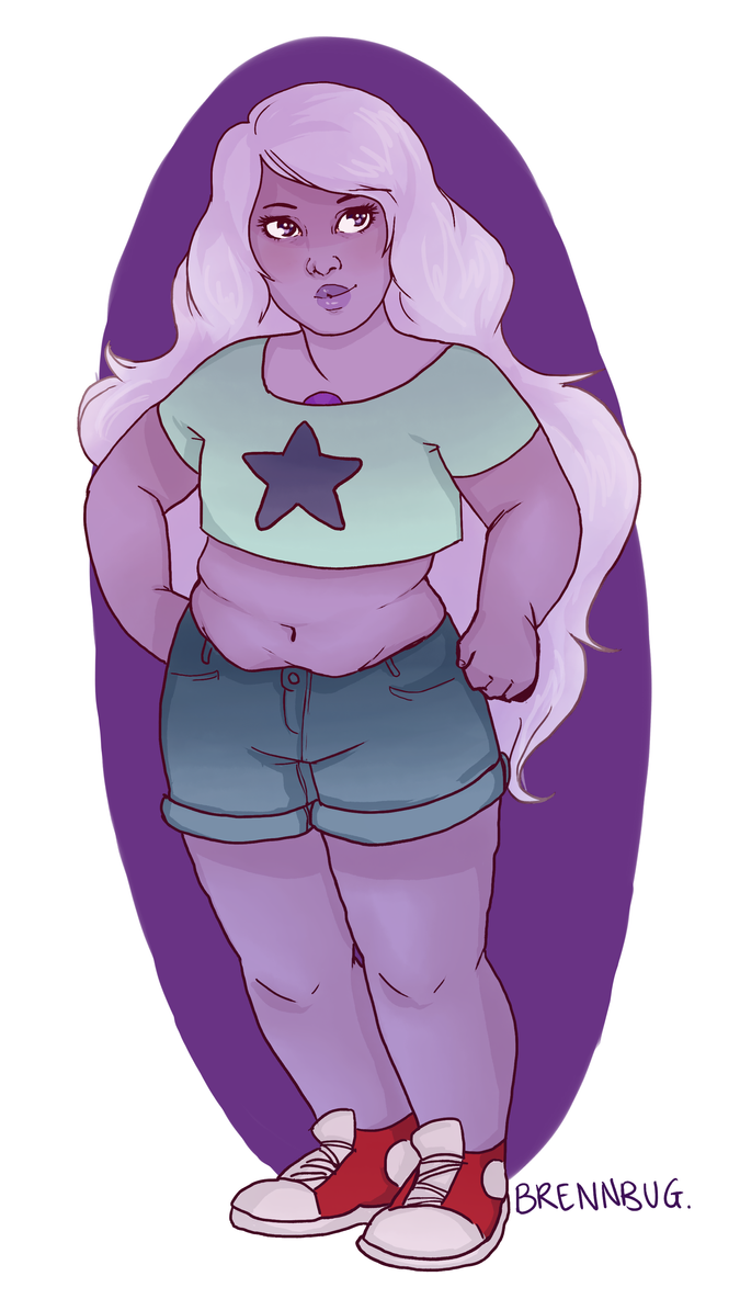 i feel like Amethyst would be a real crop top enthusiast