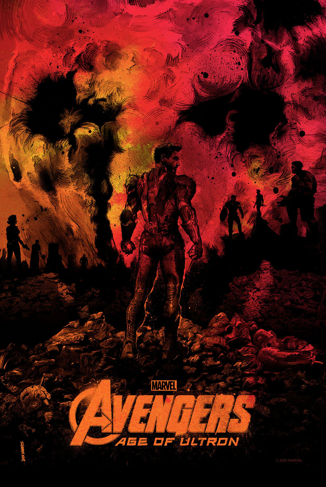 Avengers: Age of Ultron by Daniel Norris