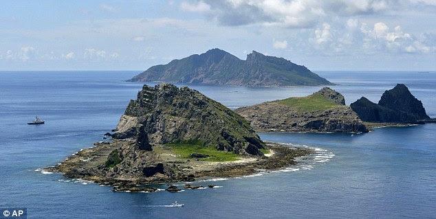 Disputa: a China está desafiando reivindicação do Japão para as Ilhas Senkaku no Mar da China Oriental