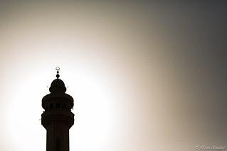 Backlit Minaret