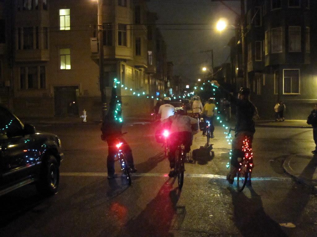 The bike limbo.