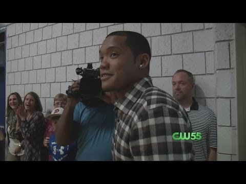 Addison Russell Visits Alma Mater After World Series Win