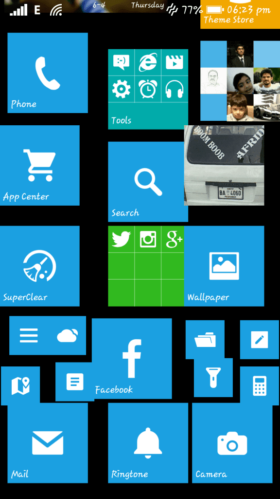 Windows 8 interface on Android - Launcher 8 (6)