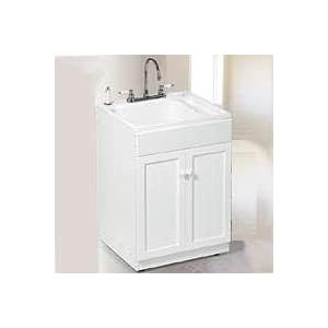 Utility Sink: Utility Sink Cabinet Kit Spray