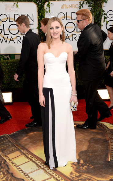 Laura Carmichael - 71st Annual Golden Globe Awards - Arrivals