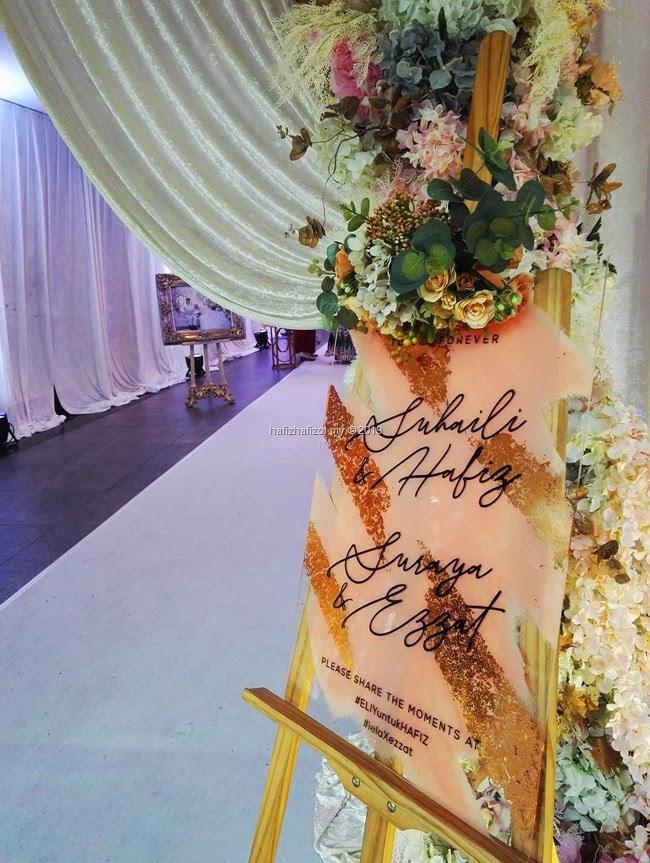 Majlis Kahwin di Dewan Perdana Felda, KL