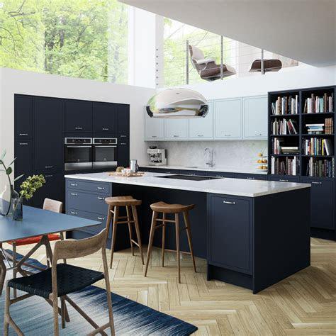 blue kitchens blue kitchen cabinets units magnet