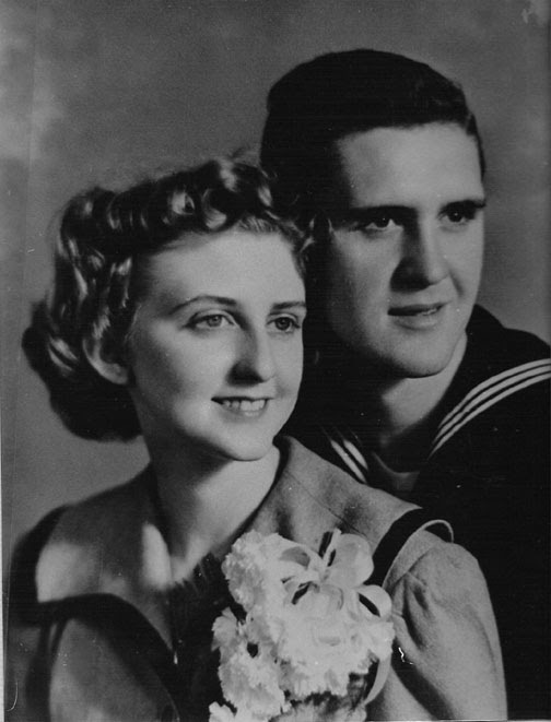 Grandma and Grandpa 39s WWII wedding