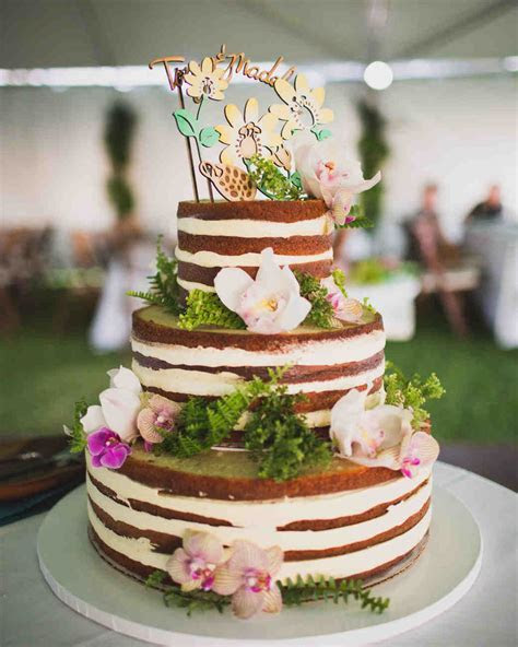 44 Naked Cakes for Your Wedding   Martha Stewart Weddings