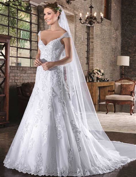 Vestido De Noiva Simple China Bridal Gowns Imported