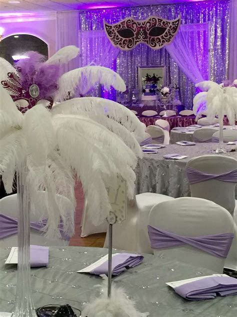 Masquerade Quinceañera Party Ideas   Photo 4 of 21   Catch