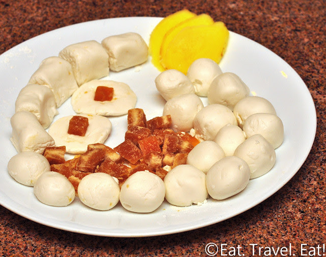 Ginger and Brown Sugar Glutinous Rice Balls- Ingredients