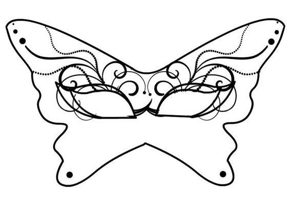 Disegnare Maschere Di Carnevale Stampae Colorare
