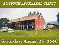Newark Valley Historical Society Fifth Annual Antique Appraisal Clinic