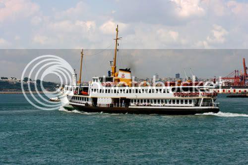 The ferry to Buyukada