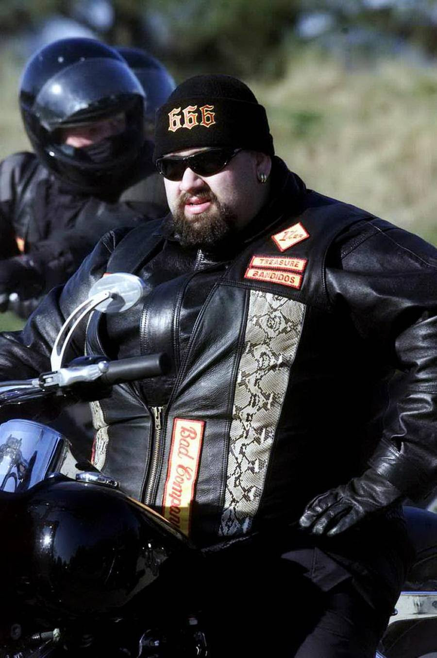 Bandidos-rockeren Poul 'Big Mac' Joachim Hansen skal efter planen begraves næste weekend. (Foto: Søren Jensen)