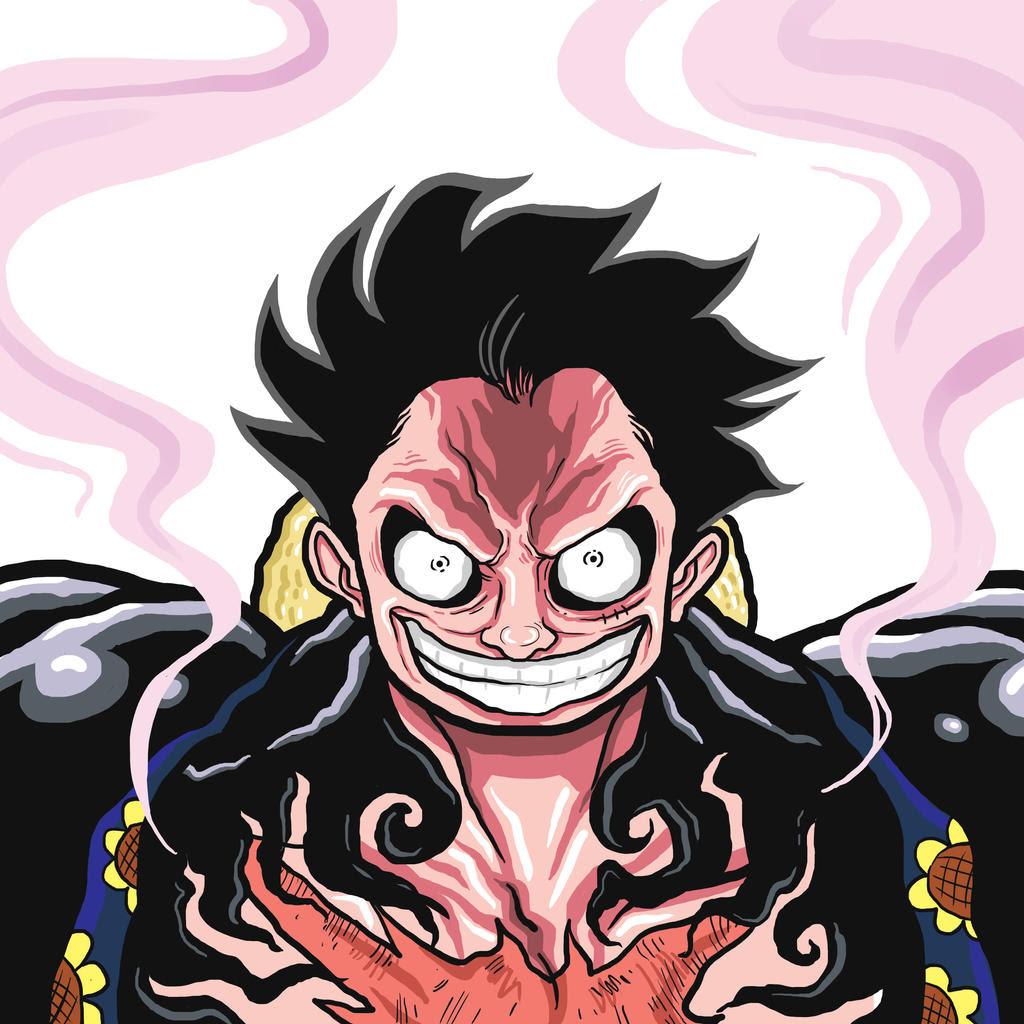 The gallery for --> One Piece Luffy Gear 4
