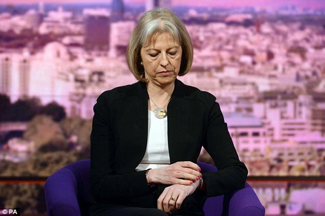 Suggestion: Home Secretary Theresa May has said the UK should consider its relationship with the European court after a string of adverse judgments
