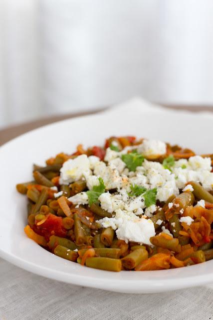Kreeka oapada. Greek beans.