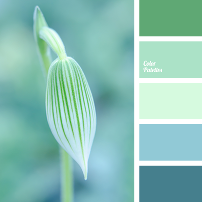 turquoise and light green | Color Palette Ideas
