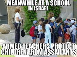 gun confiscation israel teachers
