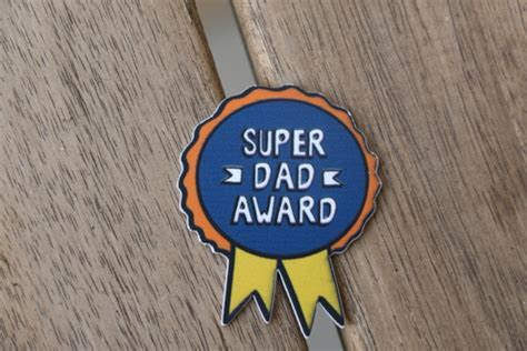 Super Dad Award   Best Father's Day gift and surprise in