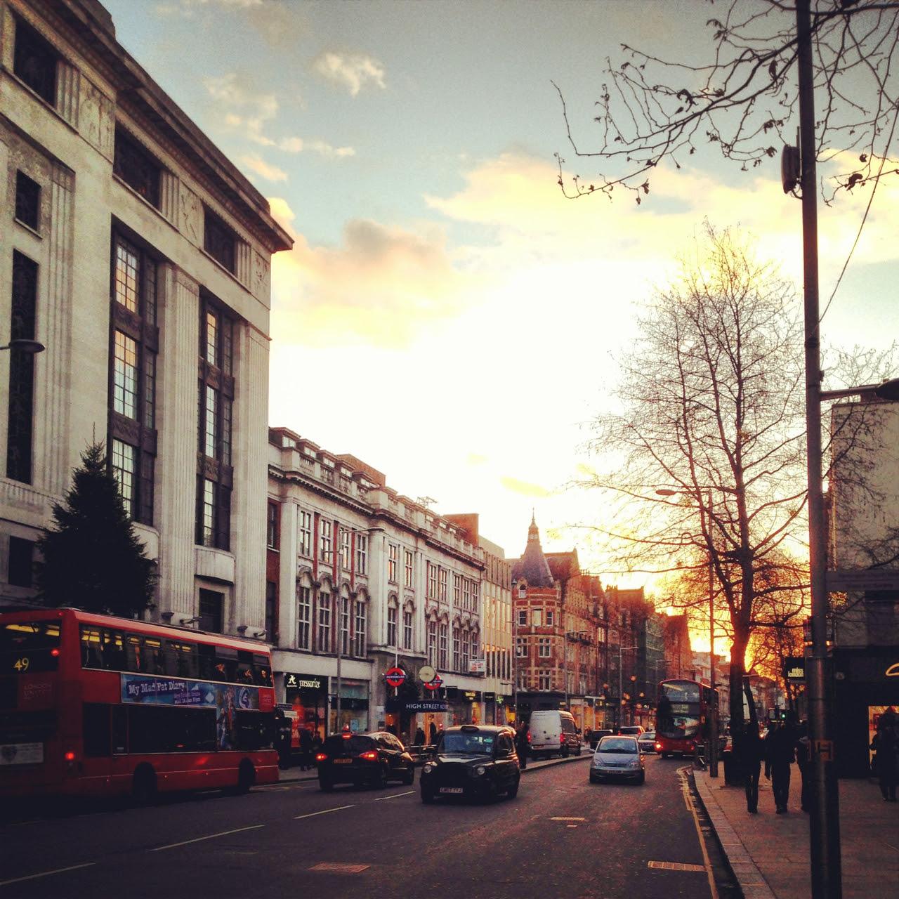 Londres é sempre tão linda...