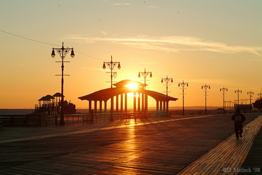 Cold Coney Sunset 211