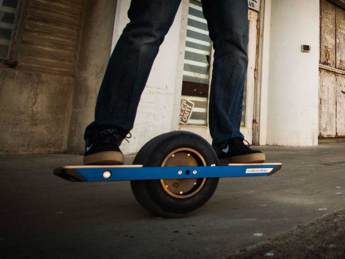 Onewheel electric skateboard review  Business Insider