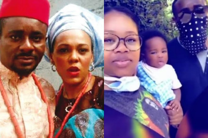 Emeka Ike goes off on his followers after one made a comparison between his second wife and his ex-wife