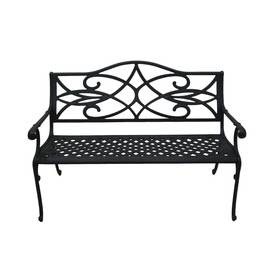 Shop Garden Treasures 51-in L Patio Bench at Lowes.
