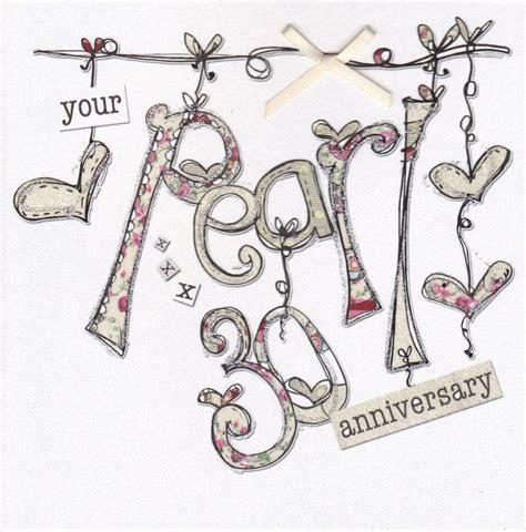 Wedding Anniversary Gifts: Pearl Wedding Anniversary Gifts