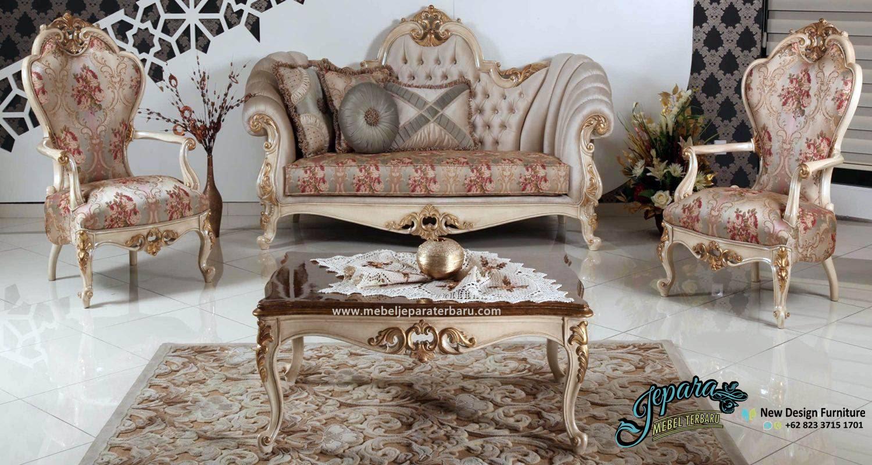 Sofa Kursi Ruang Tamu Jepara Mewah Murah Italy SST 103 Sofa Tamu