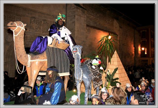 8 Cabalgata de Reyes de Briviesca 2.013