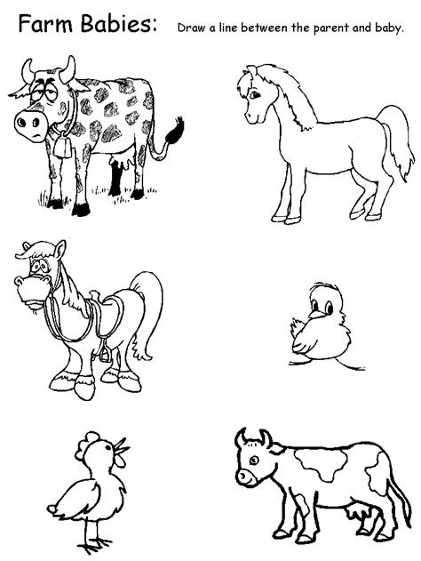 printable lamb coloring pages farm animals animal