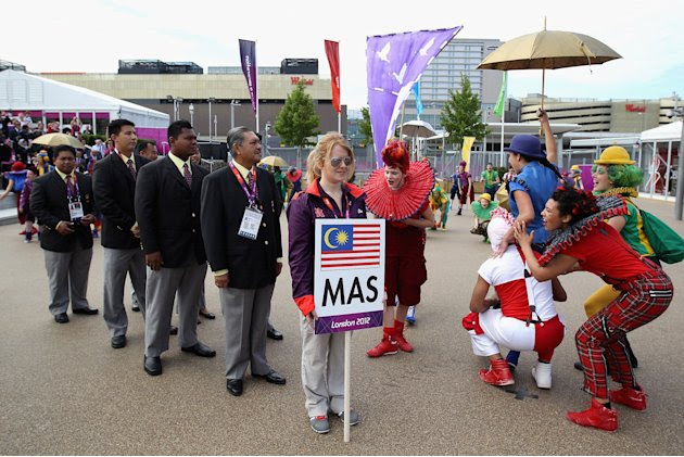 Malaysia arrives in London's…