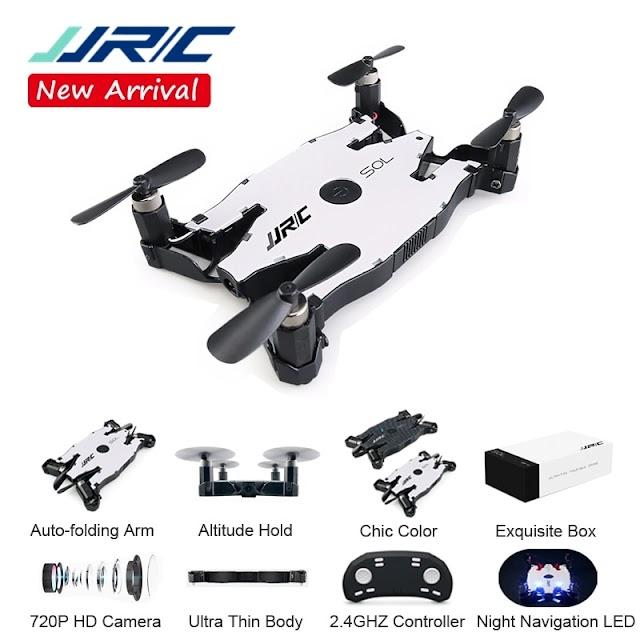Kopen Goedkoop JJR C JJRC H49 SOL Ultradunne Wifi FPV Selfie Drone 720 P Camera Auto Opvouwbare Arm Hoogte Hold RC Quadcopter VS H37 H47 E57 Online
