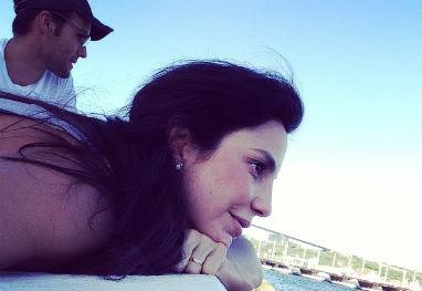 Ivete Sangalo se derrete pelo mar caribenho: 'Curaçao, paraíso do amor!' - Reprodução/Instagram