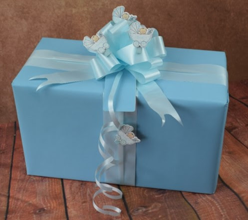 Baby Gift Wrapping Ideas Examples Of Wrapped Baby Gifts