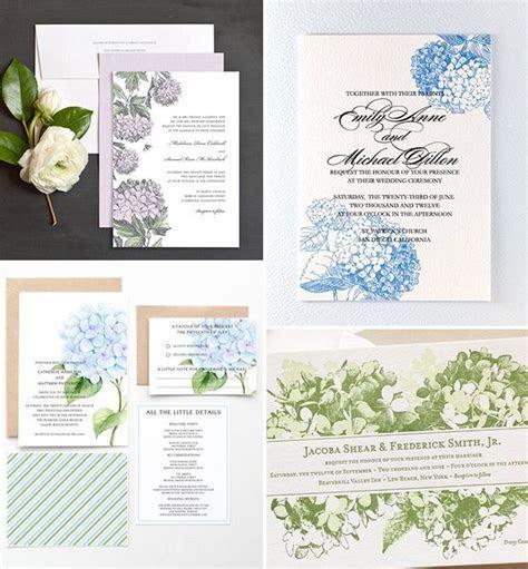 Beautiful Blooms   Hydrangea Wedding Ideas   Moodboard