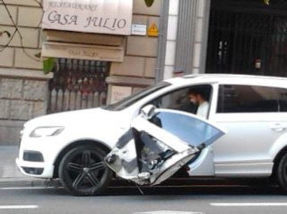 Accidente de coche de Piqué