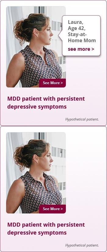 MDD Patient Profiles | FETZIMA® (levomilnacipran) ER Capsules